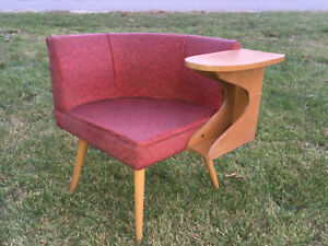 Rare Vintage 50 S Chair Retro Mid Century Modern Furniture Atomic Vg All Orig