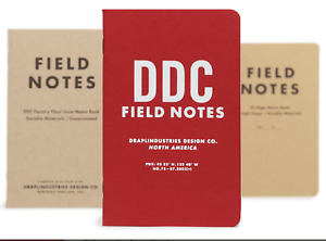 Fn 38 Field Notes Notebooks 10th Tenth Anniversary Edition 3 pack Memo Books