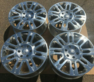 Set Of Four 20 X8 5 Wheels Rims Fit Ford F150 Pickup Expedition Polished New