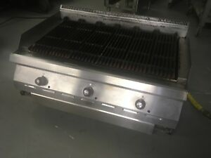 Garland Gd36rb Charbroiler Countertop Gas Grill 36 w
