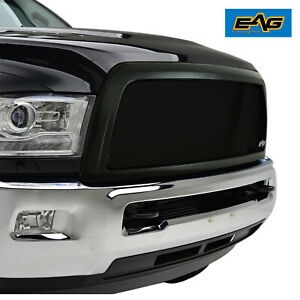 Fits 2013 2018 Dodge Ram 2500 Grille Black Stainless Steel Mesh Replacement