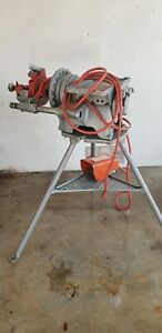 Ridgid 300 T2 Electric Power Pipe Threader W Complete Carriage