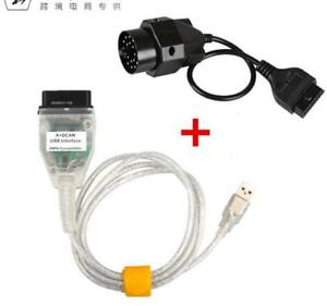 Bmw Inpa K Dcan Usb Interface Cable Lead Vag 20pin Obd1 To 16pin Obd2 Adapter