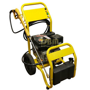 Cold Water Gas Power Pressure Washer 3000 Psi 2 5 Gpm