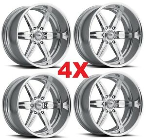 26 Pro Wheels Custom Forged Billet Rims Aluminum Alloy Foose Intro Racing Mags