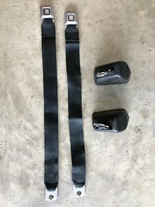 Gm Black Seat Belts Chevelle Camaro Monte Carlo Buick Olds