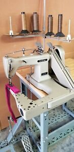 Very Nice Brother Off The Arm Double Needle Industrial Sewing Machine