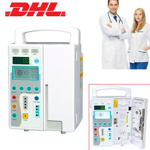 Medical Infusion Pump Iv Fluid Equipment Voice Alarm Monitor Ce For Vet Human
