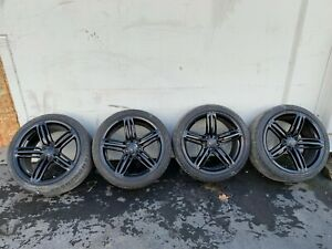 10 16 Audi A4 A5 S4 S5 19 Inch Wheel Wheels Set 19x9 Oem Black Color