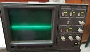 Tektronix Model 1711j Waveform Monitor With Case Offered As Working Good