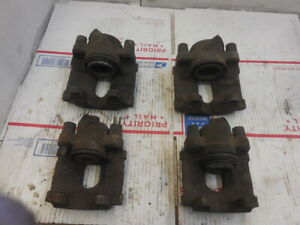 00 05 Bmw 325i 325xi E46 Oem Set Of 4 Front Rear Brake Caliper Calipers
