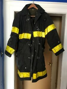 Lot Of 4 Morning Pride Bunker Jacket Fdny heavy Worn