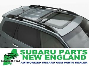Genuine Oem Subaru 2009 2013 Forester Roof Rack Aero Cross Bars Kit E361ssc300