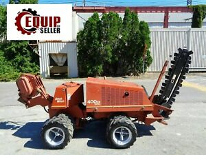 Ditch Witch 400sx Trencher Cable Plow Diesel 4x4