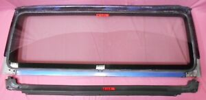 97 06 Jeep Wrangler Rust Free Oem Blue Windshield Frame With Glass And Cowl Seal