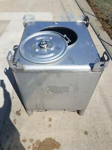 Used 350 Gallon Stainless Steel Tote Ibc Tank Precision Ibc Sku B1