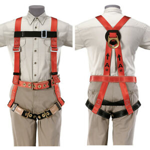 Klein 87076 Fall arrest Safety Harness And Lanyard 87075 80074 Free Priority
