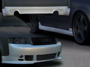 2002 2005 Audi A4 Abt Style Full Body Kit By Ait Racing front rear Sideskirts