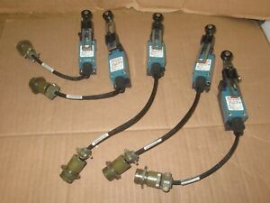 Lot 5 Honeywell Micro Switch Szl vl b Miniature Limit Switch 5a 250v Ac