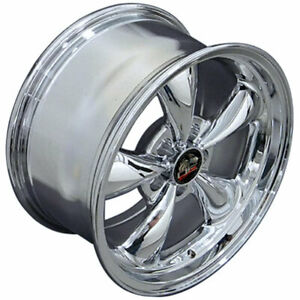 Chrome 17 Rim Mustang Bullitt Style Wheel 17x9