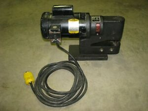 Heck Trace a punch Model 3 Sheet Nibbling Metal Trace Nibbler 1 phase Baldor