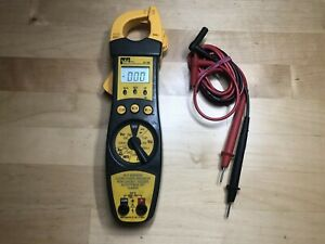 Ideal 61 702 200 Amp Electrical Digital Clamp Multi meter Test Tool