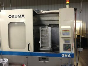 Okuma Ma 40ha Horizontal Machining Center New 2003 1 Degree 15 000 Rpm Cat40