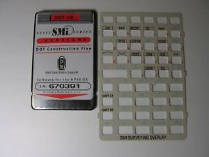Smi Dot V6 Dot Construction Five Card Version 6 Manual Overlay For The Hp 48gx