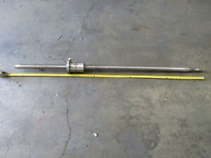 Supermax 3 Cnc Vertical Mill 62 Inch Ball Screw Ballscrew