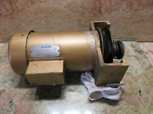 Leeson Tefc Spindle Motor 110930 00 C6t11fc6a Powermatic Burke Mill Cnc3md
