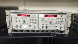 Tektronics Tm5006 Sg5030 Programmable Leveled Sine Wave Generators