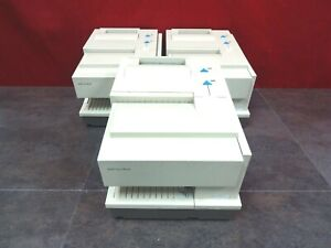 Lot Of 3 Ibm Suremark 4610 ti4 Thermal Point of sale Receipt Printer Ac Adpter