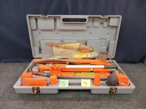 Central Hydraulic 10 ton Body Lifting Frame Repair Kit Portable Ram 32746 Used