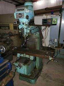 Hurco Sm1 Vertical Mill Bridgeport 12 x 42 Table 3hp