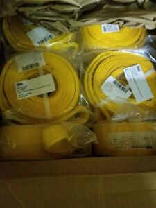 M998 Winch Tow Strap Nsn 5340 01 475 3650 12469394 10ft Long 3in Wid