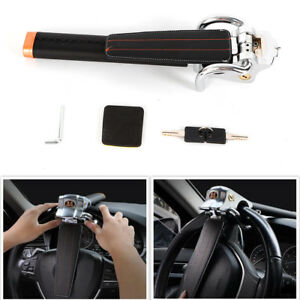 Anti Theft Security Steering Wheel Lock Devices 3way Locking For Suv Auto Car Us