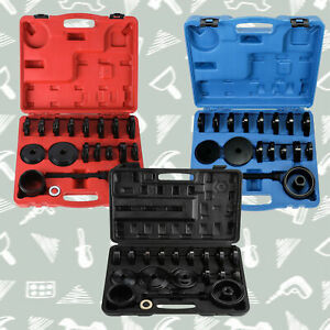 Front Wheel Drive Bearing Removal Adapter Puller Pulley Tools Kit Case 23 Pcs Pn