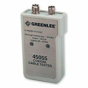 Greenlee Coaxial Cable Tester