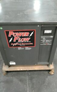 Powerflow 2200 Forklift Battery Charger 12mq725c 24 Volt 120 Amps 1203kw