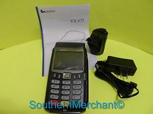 Verifone Vx675 V3 192mb Gprs 3g Printer pin Pad scr cntls