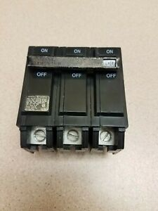 Ge General Electric Thql3100 100 Amp 3 Pole 240 Volt Circuit Breaker
