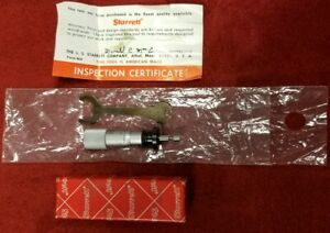 Starrett special Micrometer Head 0 500 Range With 0001 Increments