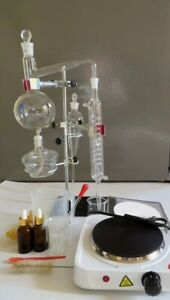 Essential Oil Steam Distillation Kit 110 V Hot Plate