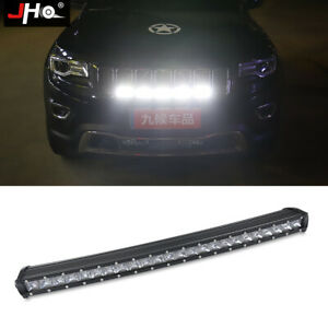Off Road Driving Front Grille Strobe Led Light Bar For Jeep Grand Cherokee 11 18