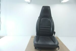 Porsche 944 911 Front Right Seat Black Oem