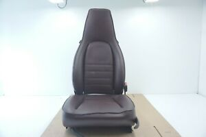 Porsche 944 911 Front Right Seat Burgundy Oem