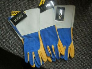 Bdg Split Leather Moosehide Tig Welder Gloves Size Med
