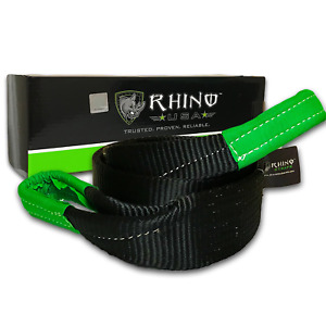 Rhino Usa Tree Saver Winch Strap 3 X 8 Lab Tested 31 518lb Break Strength