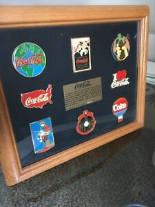 Coca-Cola Emblems of Themes Framed Collector's Limited Edition #0074/2500 RARE