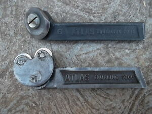 Vintage Classic Atlas Knurling Tool No 6 Threading Tool Metal Lathe